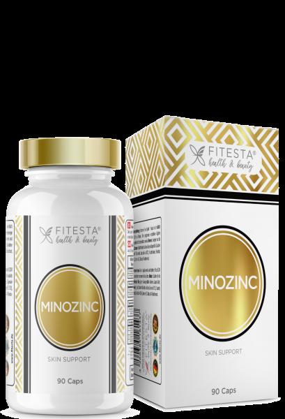 Minozinc Skin Support - 90 Caps